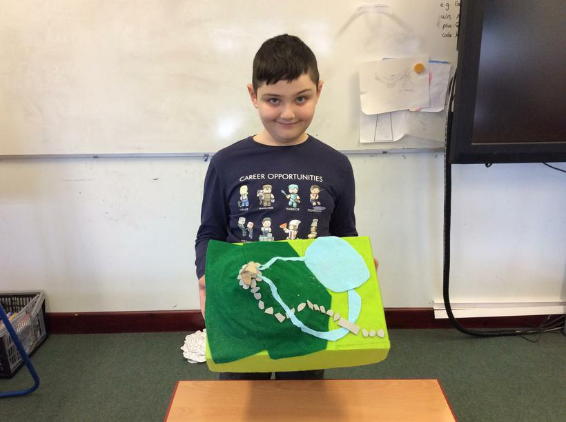George's 3D model of Scafell Pike.