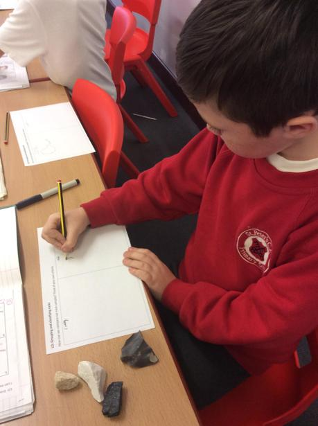 Observing and analysing rocks