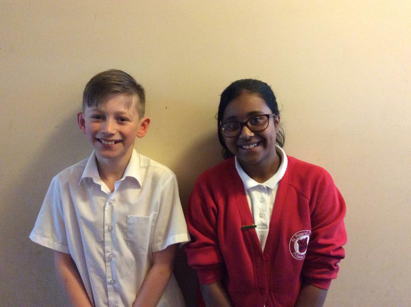 Michael and Sadiyah - Oversby winners