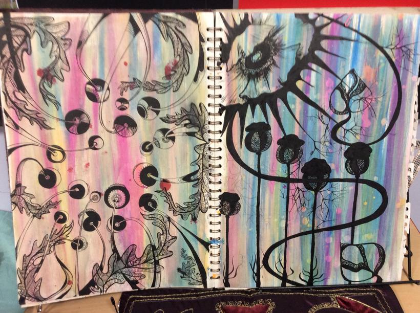 Jane smith's sketchbook