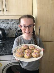 A future Bake Off star!