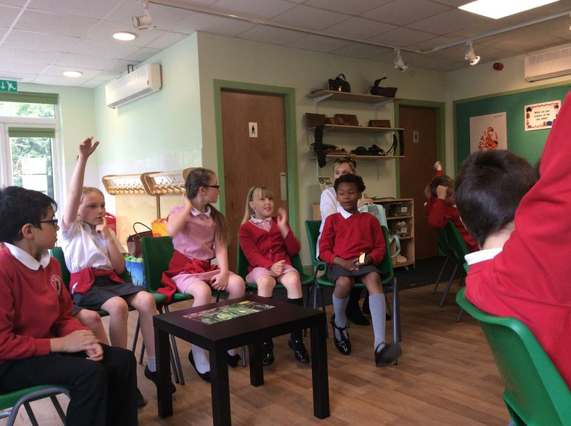 Learning about the rainforest!