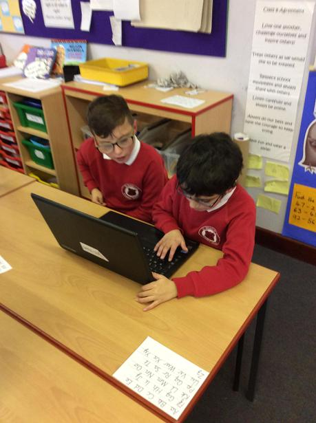 Year 6 helping to develop our skills!