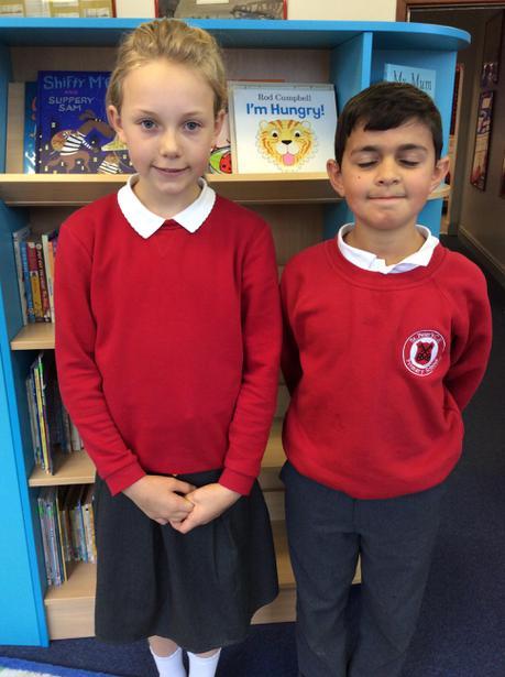Class 11   Amelia and Danyal