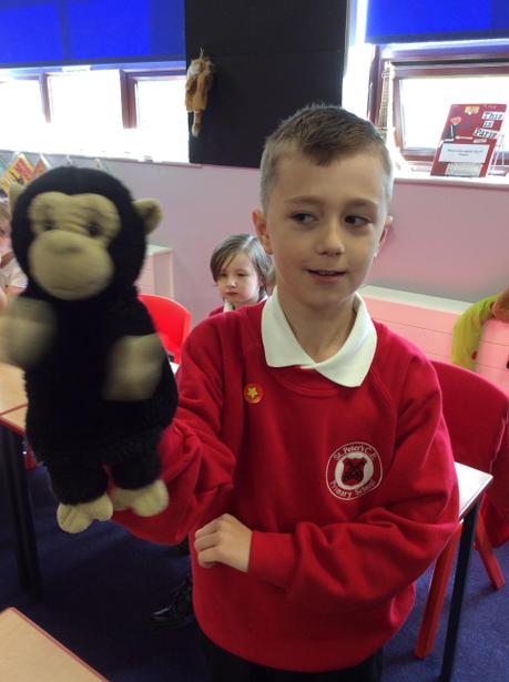 Chico helped us to learn 'Bonjour'