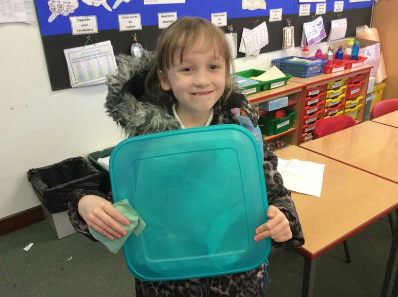 Lily-May made Grasmere gingerbread for us to try!