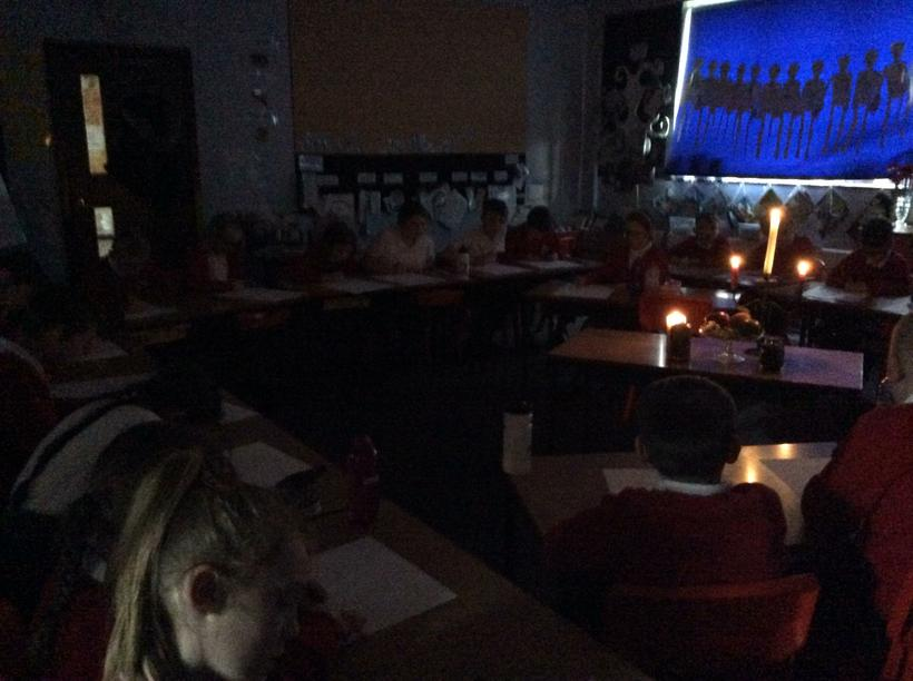 Hawthorn Class and candlelight