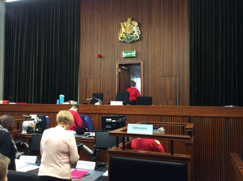 The Magistrates leave to discuss the case
