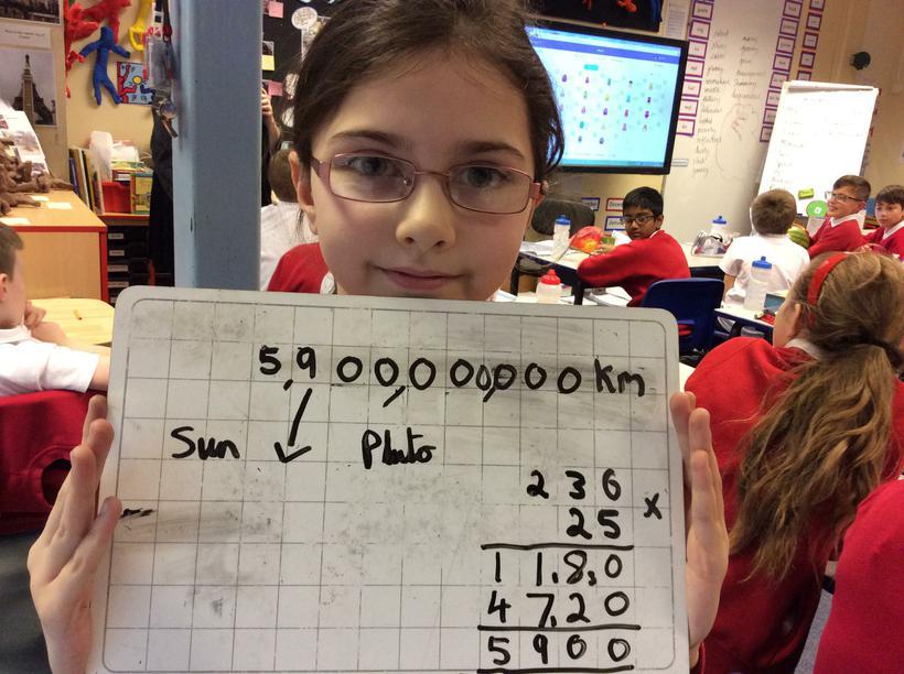 Leah's calculation