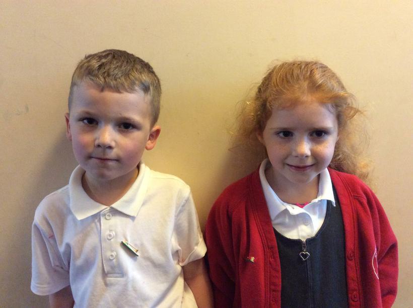 Reuben and Maisie  Class 5