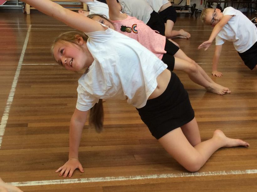 Yoga balances
