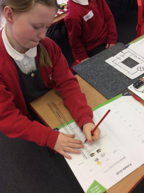Drawing a circuit using symbols