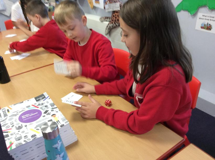 Counting our halves.