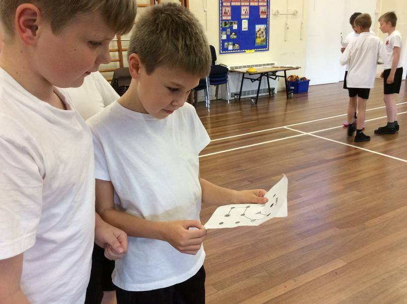 Orienteering and map reading