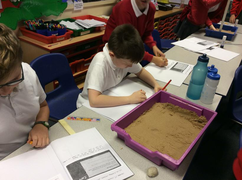 Recording our results in a table