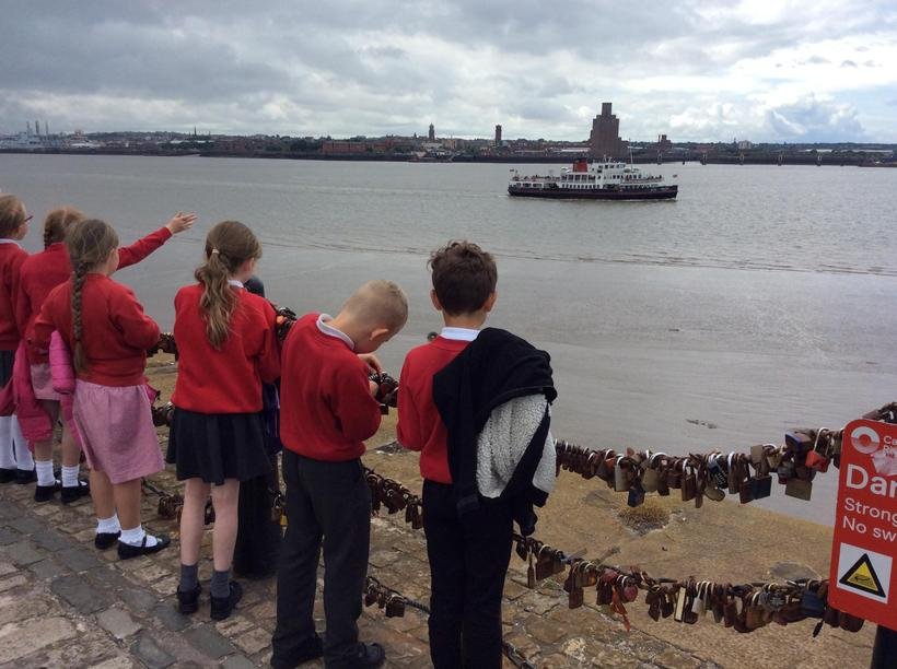 Mrs Hankisson sang us 'Ferry 'cross the Mersey'!