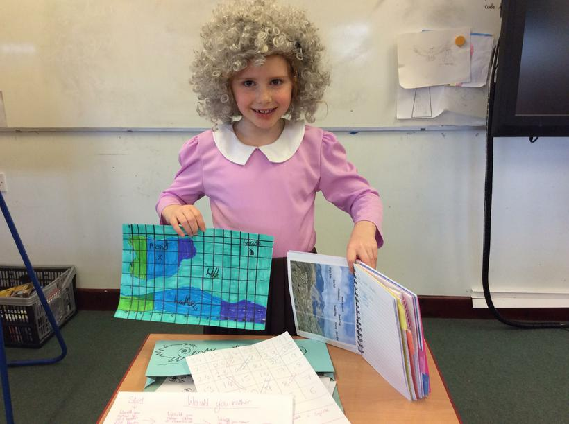 Maisie's Lake District facts and games.