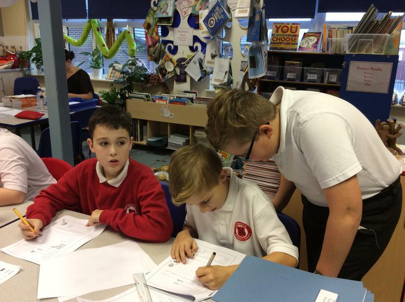 Matthew a dedicated teacher.