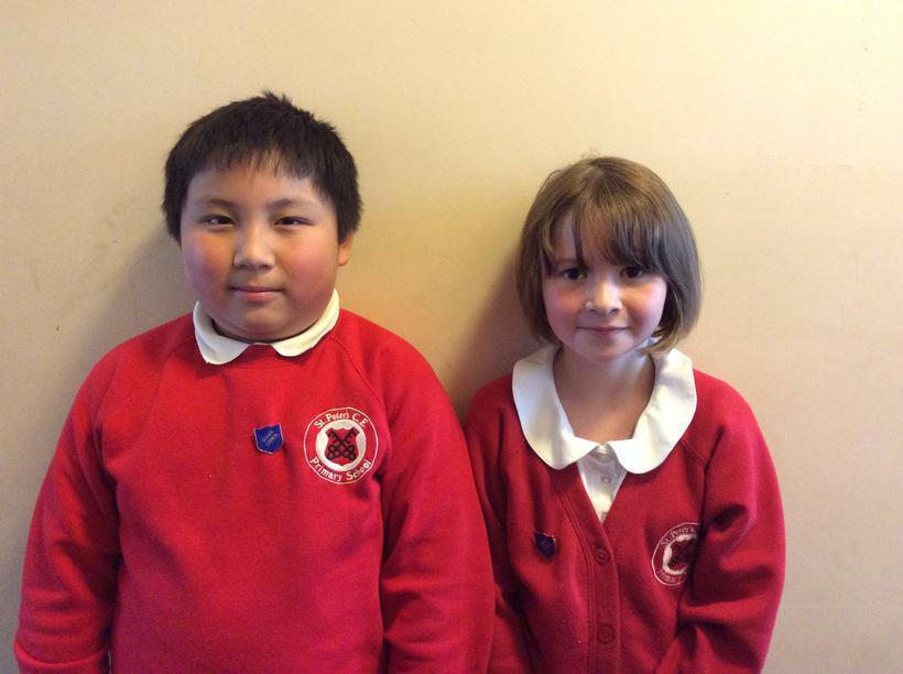 David and Ella - Class 9