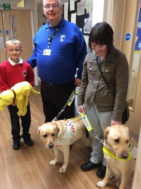 Our guide dog handlers were so impressed
