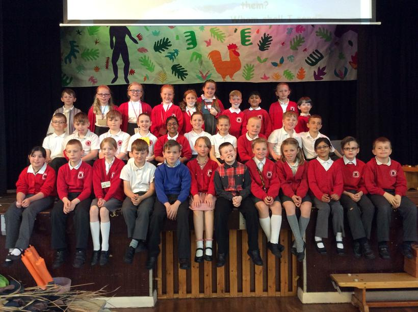 Well done Class 8 !! Brilliant performance!