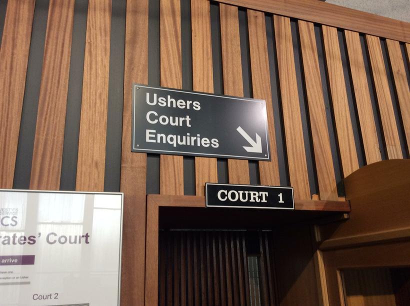 We were in Court 1