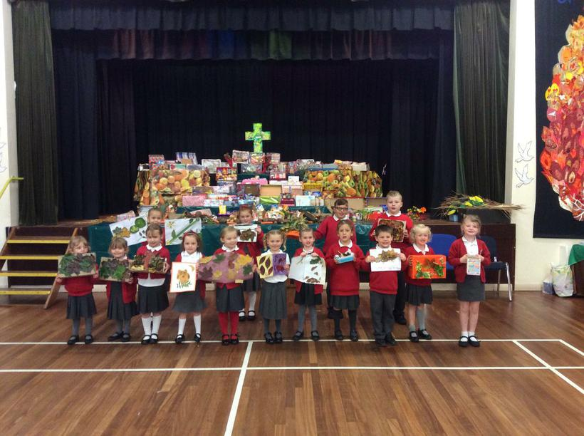 Individual Autumn Artworks made for Harvest