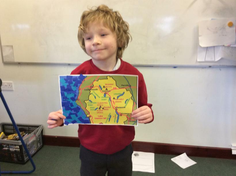 Wesley's map design.