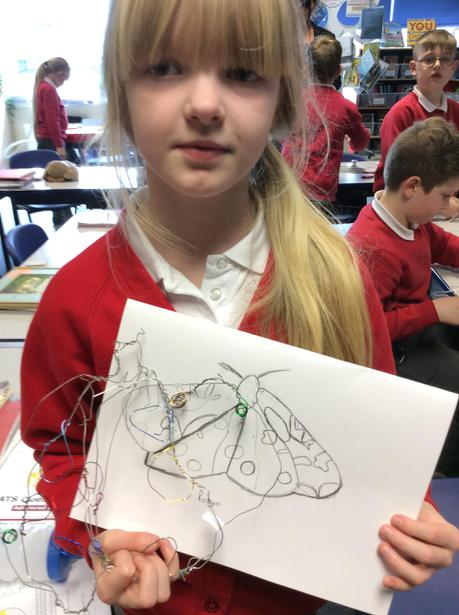 Fantastic drawing skills as well