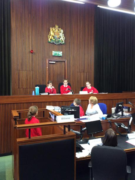 Mrs Parker was cross-examined by Defence
