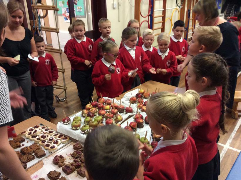 We had lots of keen customers