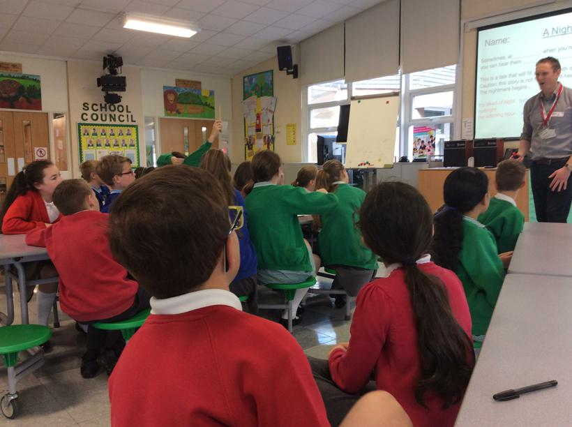 Mixing with 3 other Primary schools