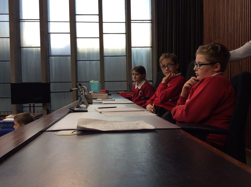 The Magistrates deliberate