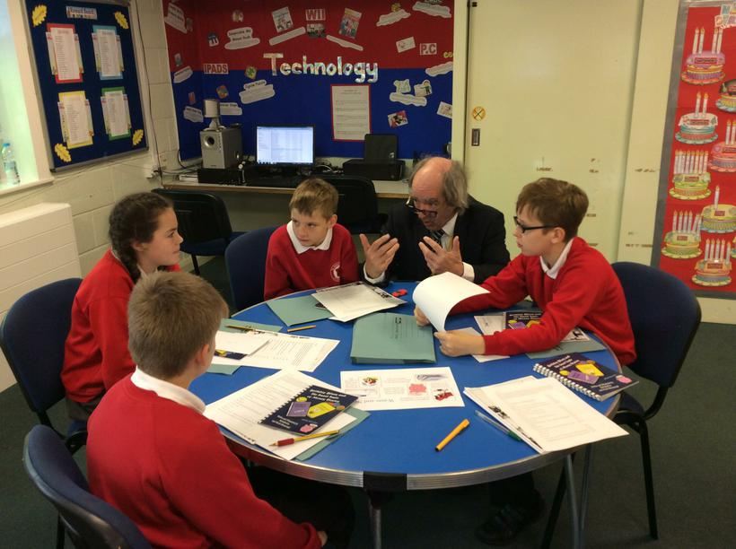 Lesson training with Mr Souter