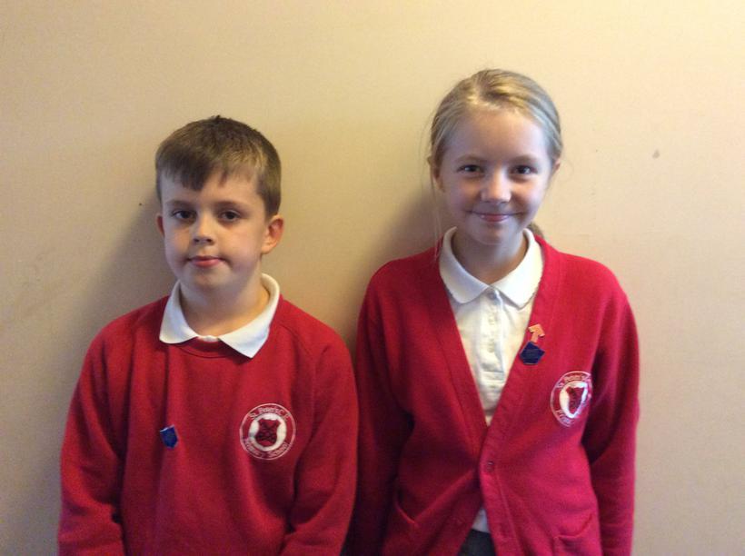 Joshua and Megan - Class 11