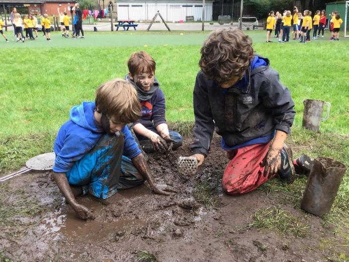 Mud, mud, glorious mud.