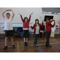 Showcasing dancing skills