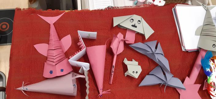 Origami by Raman