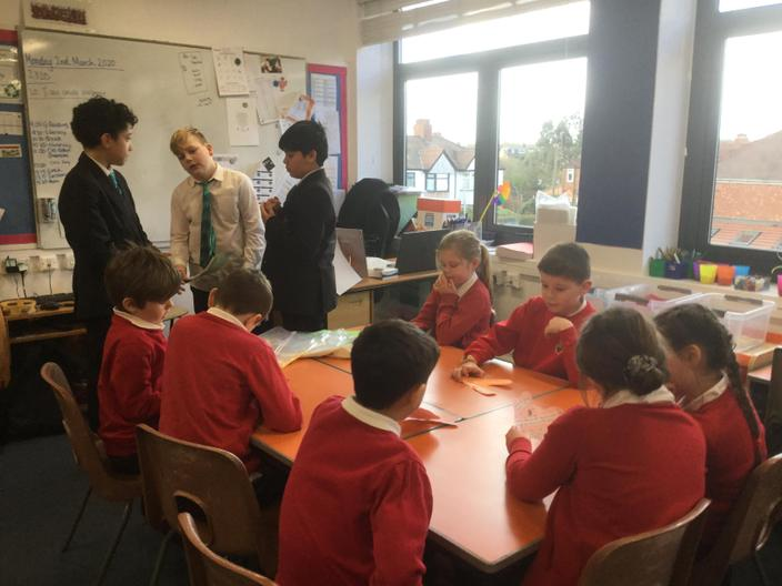 CHS Y8 students taught us about other countries