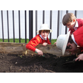 Being archaeologists in the playground