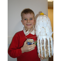Oliver Vendy's winning plastic design for Year 3