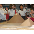 Recreating pyramids during our Egyptian Workshop