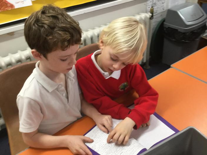 Sharing stories with Year 3