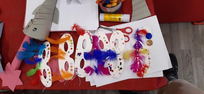 The EYFS Masks.