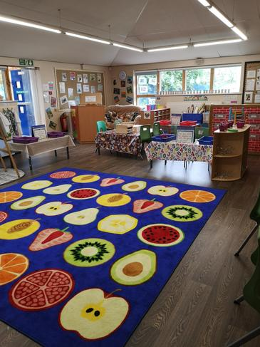 Our Reception classroom