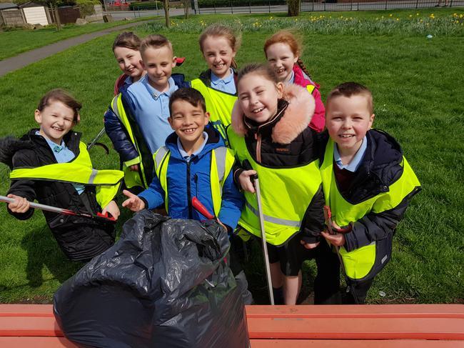 We carry out regular community litter picks.