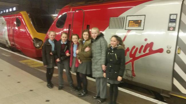 The Eco Team off to London.