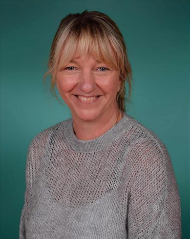 Miss Vicki Glazebrook.  Staff Governor