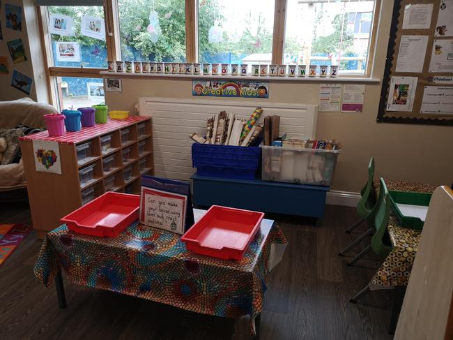 Craft and model making area