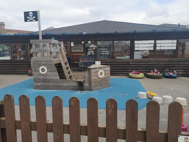 Our outdoor play area